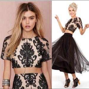 For Love & Lemons Ethereal Crop top